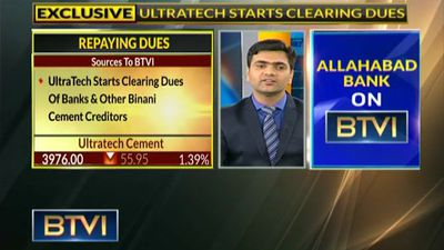UltraTech Cement To Clear A Total Of Rs 8240 Cr Dues Of Binani Cement