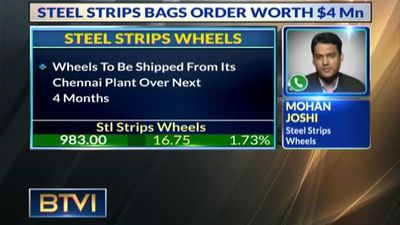 Steel strips bags order worth $4Bn
