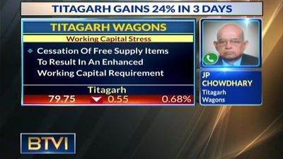 Titagarh rallies on Rs 1560 order