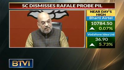 Amit Shah briefs on Rafale