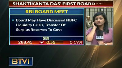 Shaktikanta Das's first RBI board meet