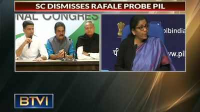SC dismisses Rafale probe PIL