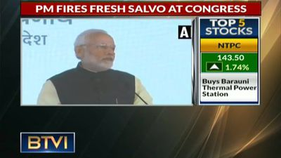 PM Fires Fresh Salvo At Congress