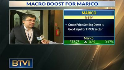 Macro boost for Marico