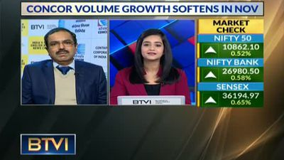 Container corp volume growth siftens in Nov