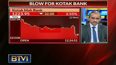 Blow for Kotak Bank
