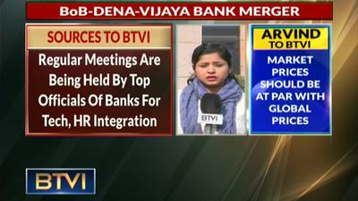 BoB-Dena-Vijaya Bank merger