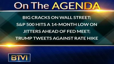 Big cracks on Wall street