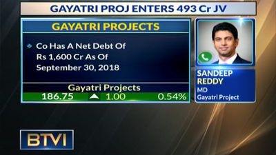 Gayatri Proj Bags Rs 493 Cr JV Project