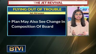 Jet Airways resolution plan presently under active discussion