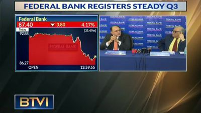 Federal Bank Registered Steady Q3