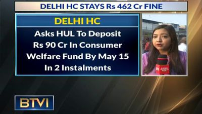 Delhi HC Stay Demand Of Rs 462 Cr On Hindustan Unilever Ltd