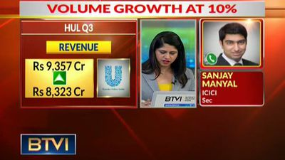 Hindustan Unilever Ltd's Volume Growth at 10%