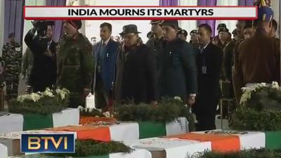 India Mourns its martyrs