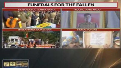 Bodies of martyrs reach home for final journey