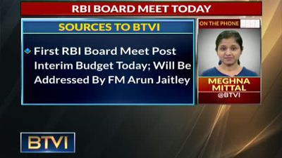 RBI board meet today