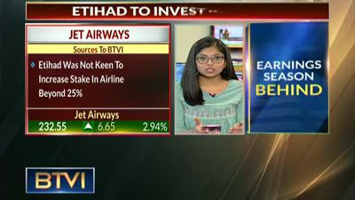 Etihad may invest Rs 1,400 cr in Jet Airways