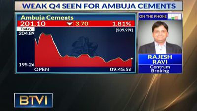 Weak Q4 seen for Ambuja Cement