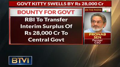 RBI payout in FY19: Rs 68,000 Cr