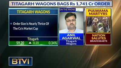 Titagarh wagons bags Rs 1,741 Cr order