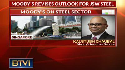 Moody's revises outlook for Tata Steel & JSW Steel