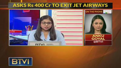 Etihad Asks For Rs 400 Cr To Exit Jet