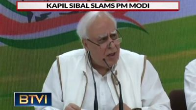 Kapil Sibal Slams Modi