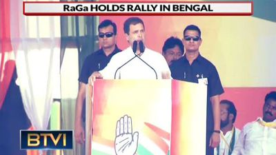Rahul Gandhi Hits Out At Mamata