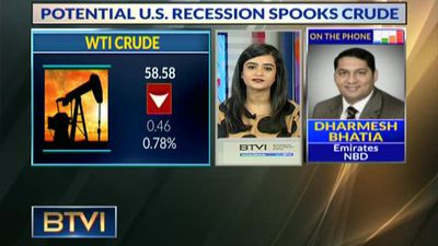 Potential US recession spooks crude oil
