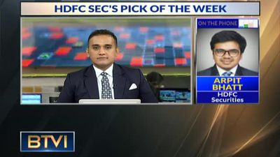 HDFC Sec's Pick For The Week