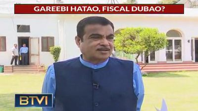 Exclusive: Nitin Gadkari on Cong's poll promise, BJP's poll agenda, and more