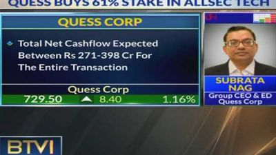 Quess Corp Acquires Majority stake in Allsec Tech