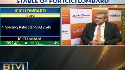 Stable Q4 for ICICI Lombard, Aim to maintain ROEat 20%