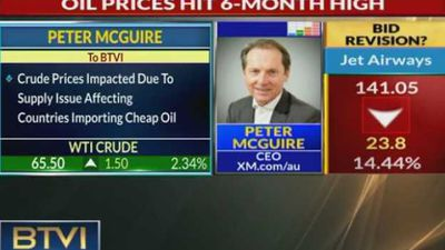 Oil prices hit 6-month high on OPEC supply cuts