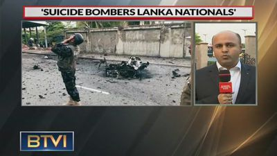 All suicide bombers believed to be Sri Lankan nationals