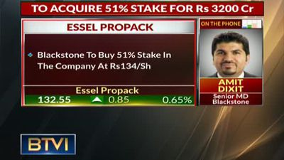 Blackstone to acquire 51% stake in Essel Propack for $460 million