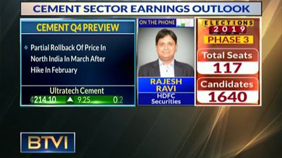 Cement Sector Earnings look good this quarter: HDFC Sec