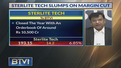 Sterlite Tech Slumps On Margin Cut