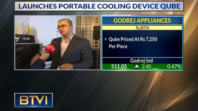 Godrej Appliances launches portable and green cooling device Qube