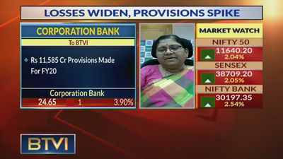 Q4 Losses Due To Higher Provisioning: PV Bharti, Corporation Bank