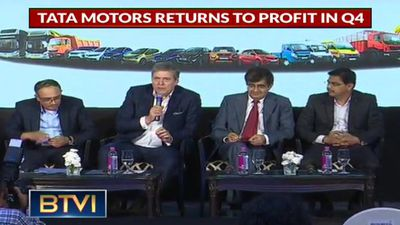 Tata Motors returns to profit in Q4