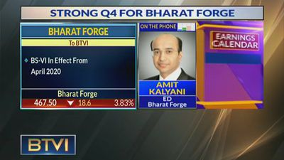 Automotive Demand Expected To Be Weak In Q1: Amit Kalyani, Bharat Forge