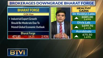Bharat Forge's Industrial Export Growth Slow Due To Muted Global Economic Outlook
