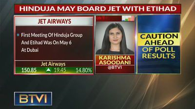 Hinduja Group May Board Jet Airways With Eithad, Keen On Acquisition