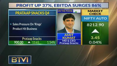 Strong Q4 For Prataap Snacks; Profit up 37%