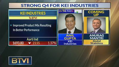 Aim To Bid For Orders Worth Rs 1500 Cr In The Next 3-6 Months: Anil Gupta, KEI Industries