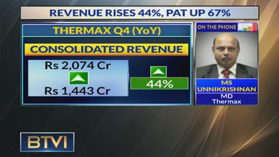 Expect Some Orders In The Small Size Category To Come Through In Q2: MS Unnikrishnan, Thermax