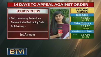 Dutch Bankruptcy order served to Jet Airways; 14 days to appeal against it