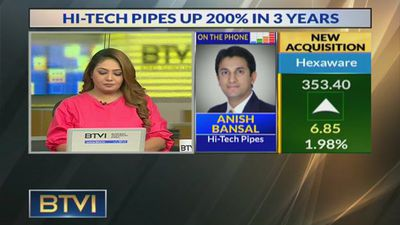 Aim to achieve 10% market share in few years: Anish Bansal, Hi-Tech Pipes