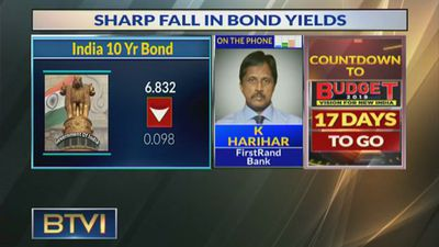 Bond yield comfort level is 6.75%: K Harihar, FirstRand Bank